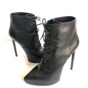 Saint Laurent leather boots size 40